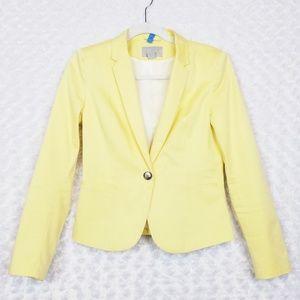 H&M Yellow Blazer